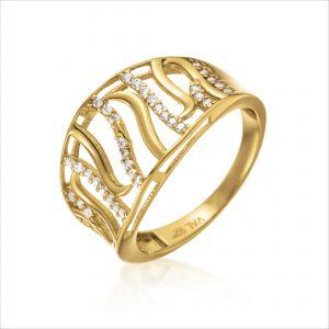 טבעת ציפוי זהב - ריני