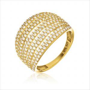 טבעת ציפוי זהב - מאלי