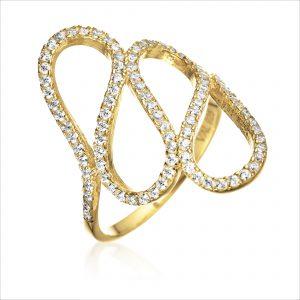 טבעת ציפוי זהב - קאנו