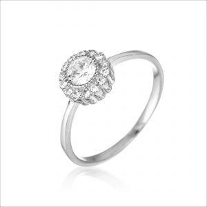 טבעת כסף - רביד