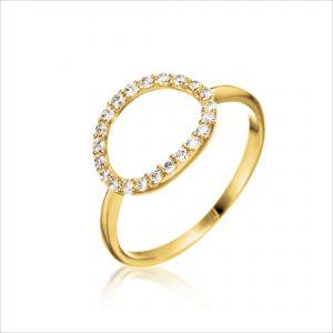 טבעת ציפוי זהב - מנגה