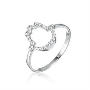 טבעת כסף - חמסה