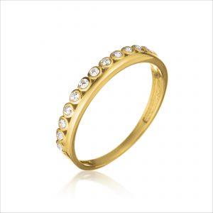 טבעת ציפוי זהב - בונדו