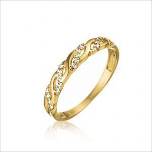 טבעת ציפוי זהב - בורוטו