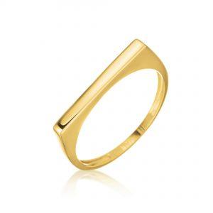 טבעת ציפוי זהב - קודי