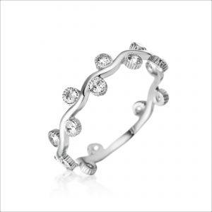 טבעת כסף - לואיס