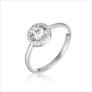 טבעת כסף - לאון