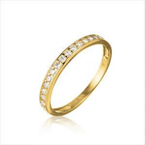 טבעת ציפוי זהב - לולו