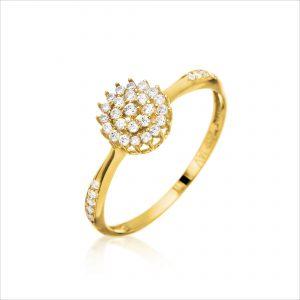 טבעת ציפוי זהב - קימי