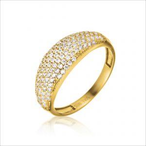 טבעת ציפוי זהב - דינו