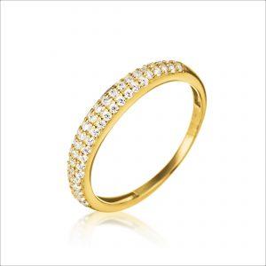 טבעת ציפוי זהב - ויקי דקה