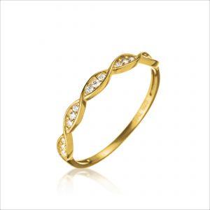 טבעת ציפוי זהב - אוקולה