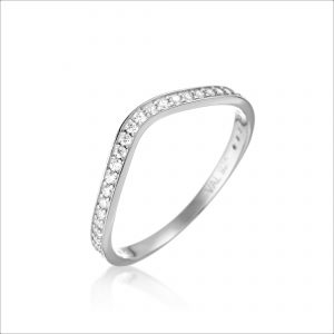 טבעת כסף - גל