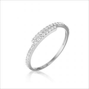 טבעת כסף - אורורה