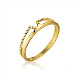 טבעת ציפוי זהב - טינטו