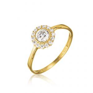 טבעת ציפוי זהב - סייגון